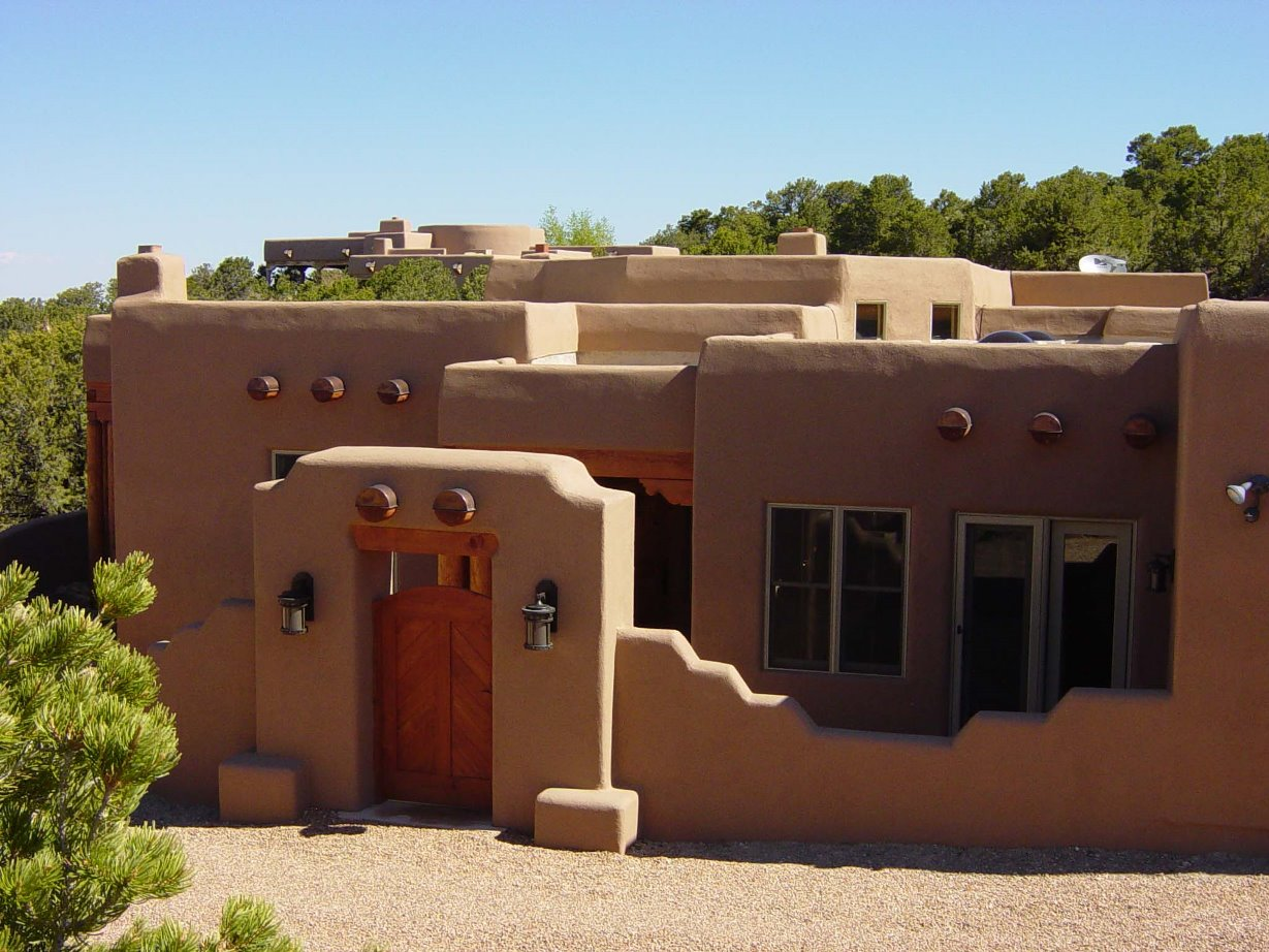 Santa fe house plans santa fe style homes for Santa fe house plans